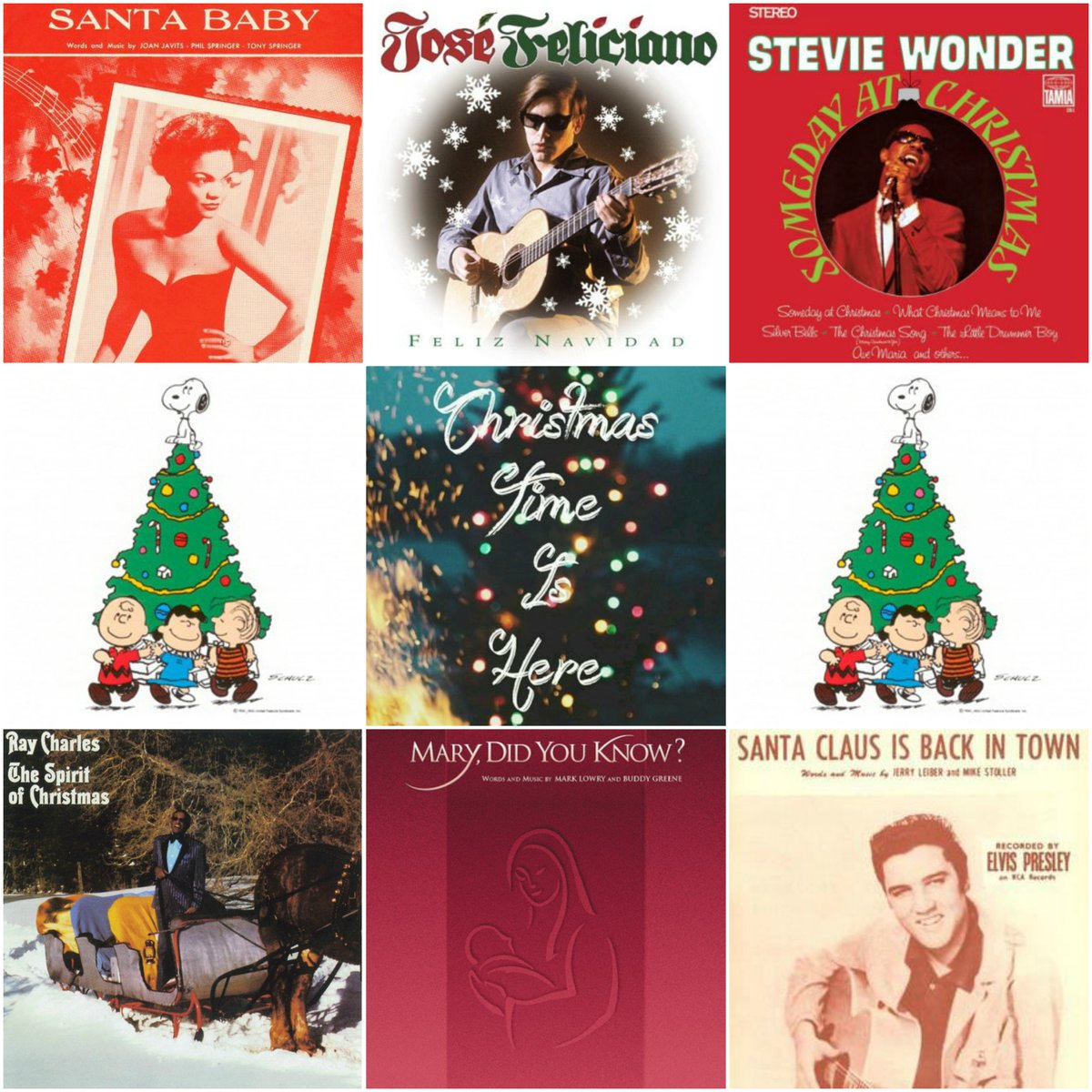 talking about their songs feliz navidad santa claus is back in town mary did you know santa baby someday at christmas more - Mary Did You Know Christmas Song