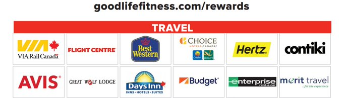 Goodlife Fitness Rewards Program Partners Latest News Breaking
