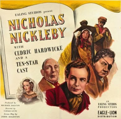 12/11/52, holiday movies get whacked on WCBS: 1947 U.K. NICKEBY (108 minutes in theaters) on 'The Late Matinee'' from 5 to 6, commercials included; 1944 KNICKERBOCKER (originally 85 minutes) from 6:15 to 7:25 on 'The Early Show.''