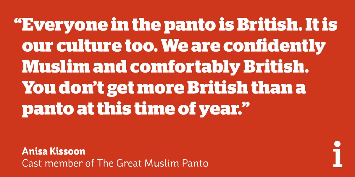 The world's first Muslim pantomime opens this week to show that Muslims integrate into British society even if they don't celebrate the same religious events https://t.co/JupAwtOdw2