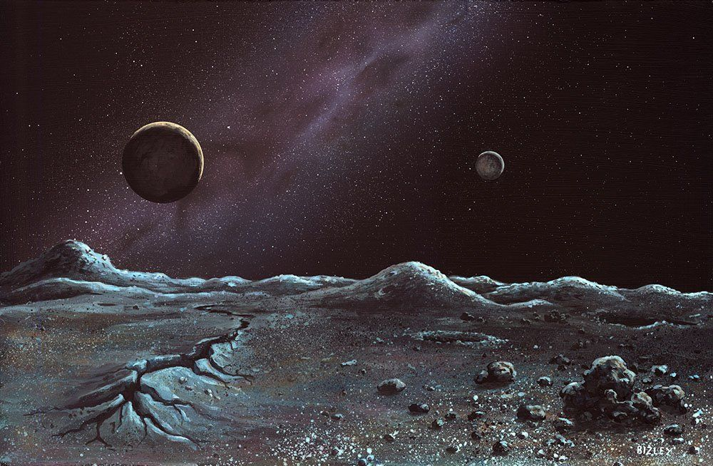 Styx Pluto S Moon: Charon: Latest News, Breaking Headlines And Top Stories