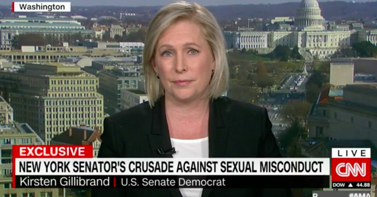 Sen. Kirsten Gillibrand calls on Trump to resign over sexual assault allegations https://t.co/5dA10gn9Xx