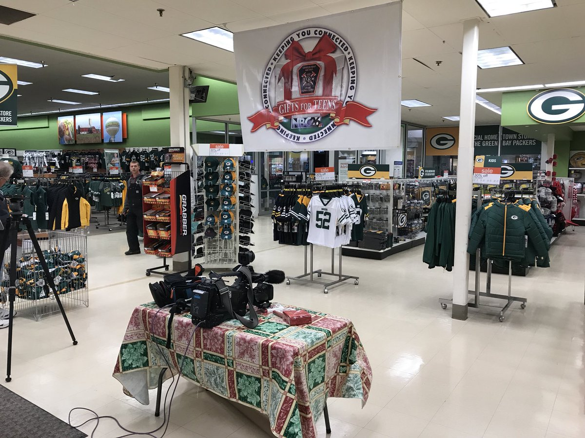 We are all set up and ready to go for Gifts for Teens tomorrow with @GreenBayFire!! 8 a.m.-8 p.m. at Shopko at the Bay Park Square Mall!