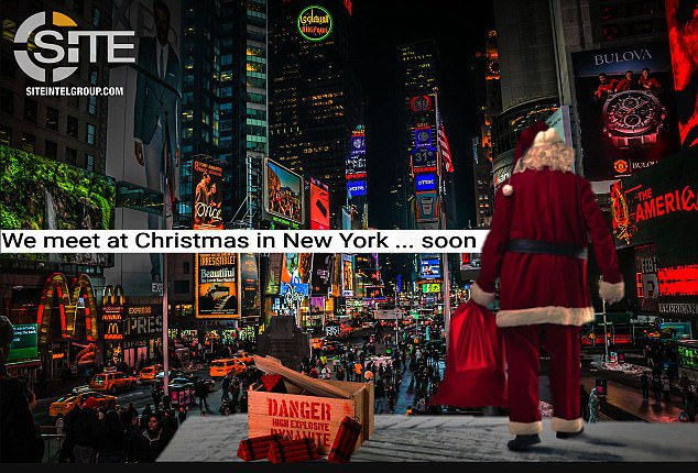 ISIS Message 2 Weeks Ago Warned About 'Christmas in New York' - https://t.co/5HBndEN2pl
