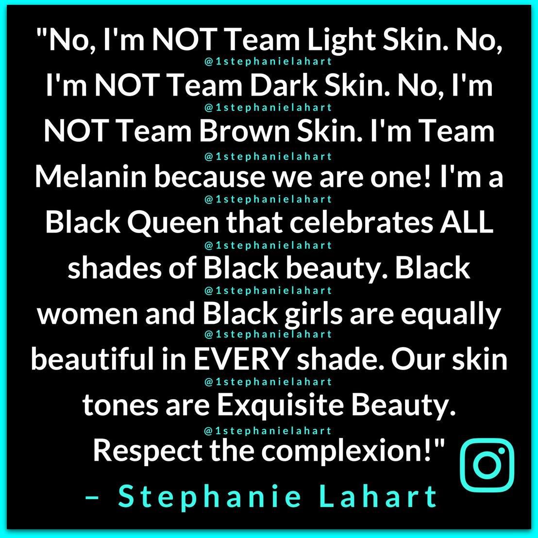 Stephanie Lahart On Twitter Inspirational And Empowering Melanin