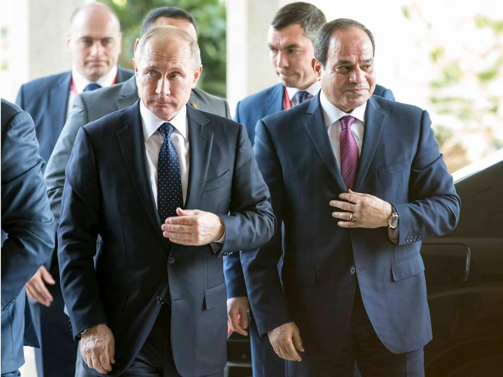 Russia to ink $30B nuclear deal with Egypt, expanding its influence in the Middle East https://t.co/mn0zNS0uma
