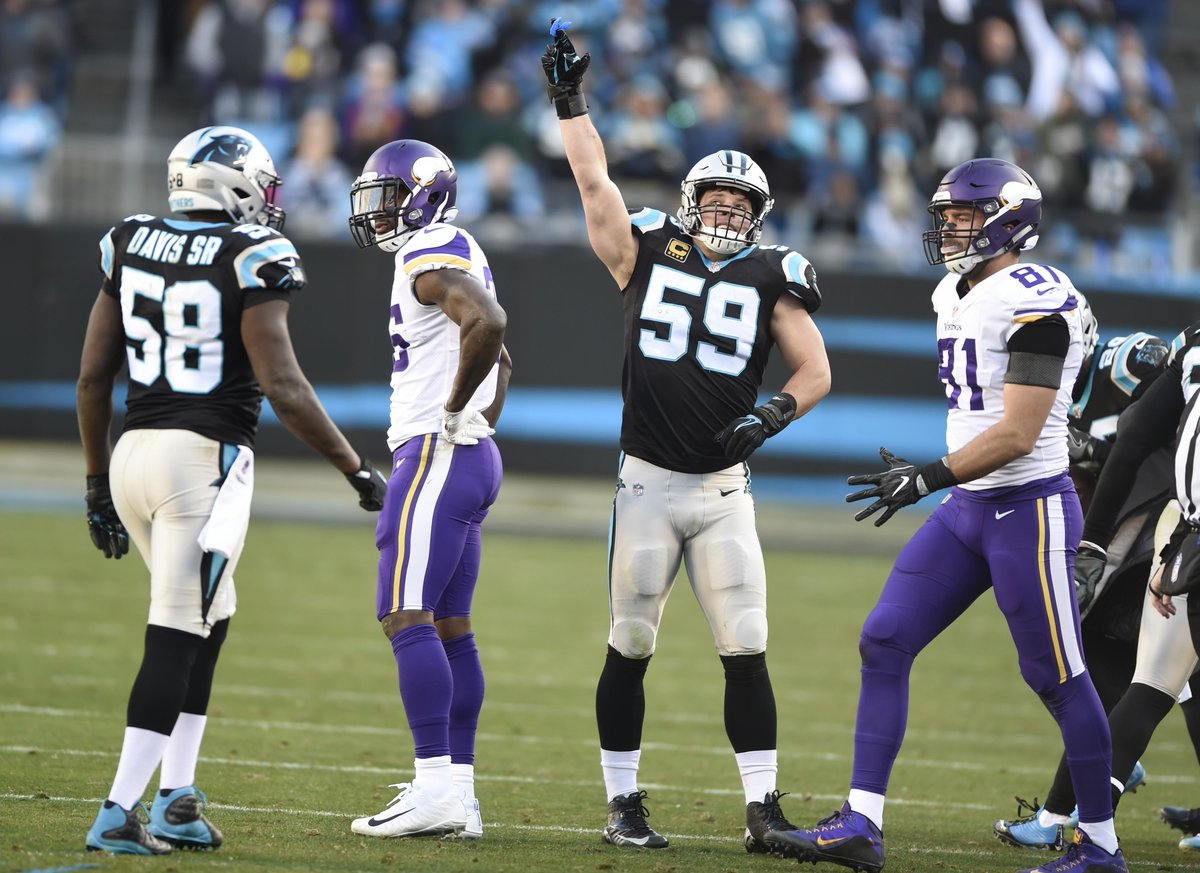 Don't call it a 'statement game,' but Carolina Panthers defense came through in a big spot against Minnesota https://t.co/1bDzvJLZvg