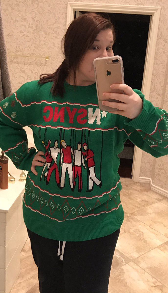 Image Is Loading Ugly Christmas Sweater Go Jesus It 039 S Double