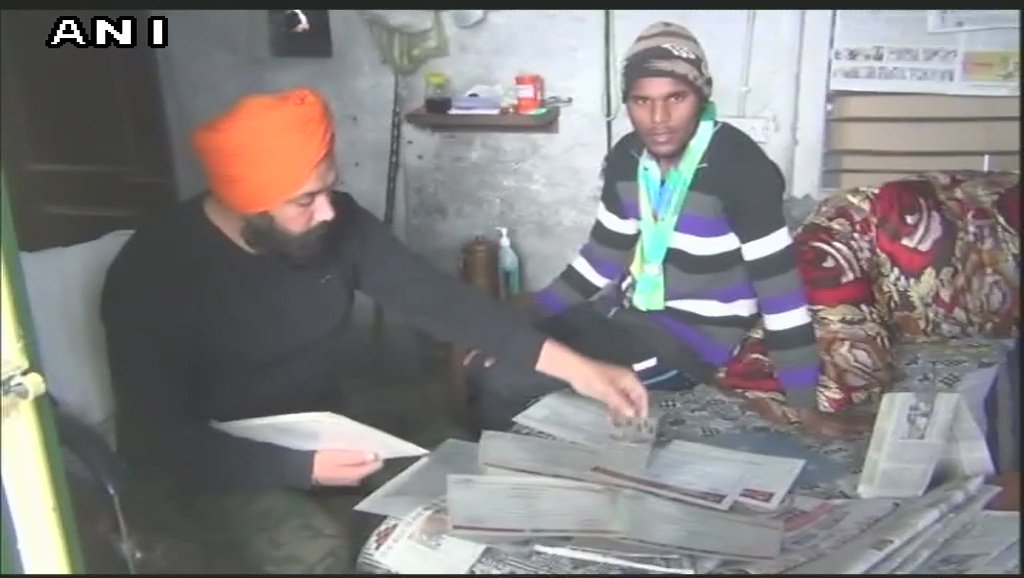 17-year-old Rajvir Singh, double gold medalist in cycling at the Special Olympics World Games, working as a labourer in Ludhiana to make ends meet. Father Balvir Singh says 'Punjab government is yet to give prize money of Rs 30 lakhs promised 3 years ago' #Punjab
