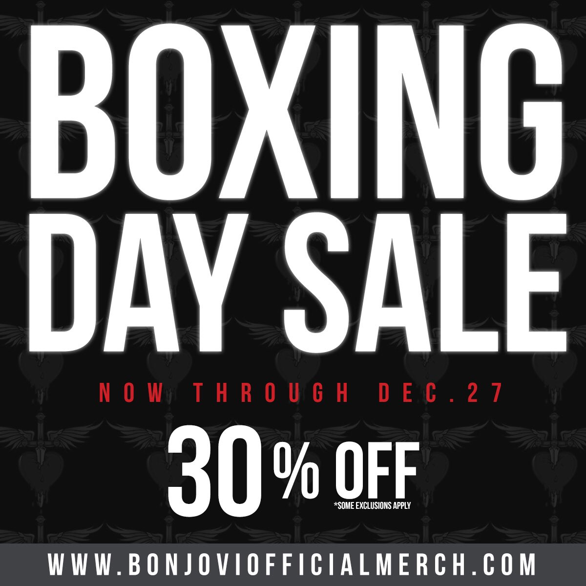 Save 30% off on official merchandise now through Wednesday!   https://t.co/qj12MamKWZ https://t.co/CroqJlLIAk