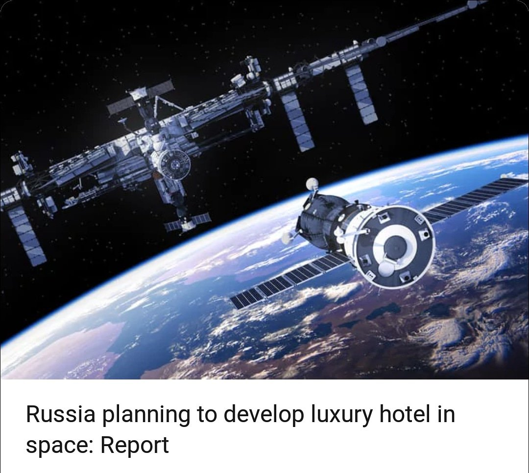 Russia planning to develop luxury hotel in space.  Follow @InstaTechWorld for more. #tech #technology #geek #inventions #innovation  #insta #instatechworld #iot  #technews #technews24h #engineer #engineering #gain #techworld #instagood #electronics #instanews #instatechnews pic.twitter.com/CUXIHCwU1I
