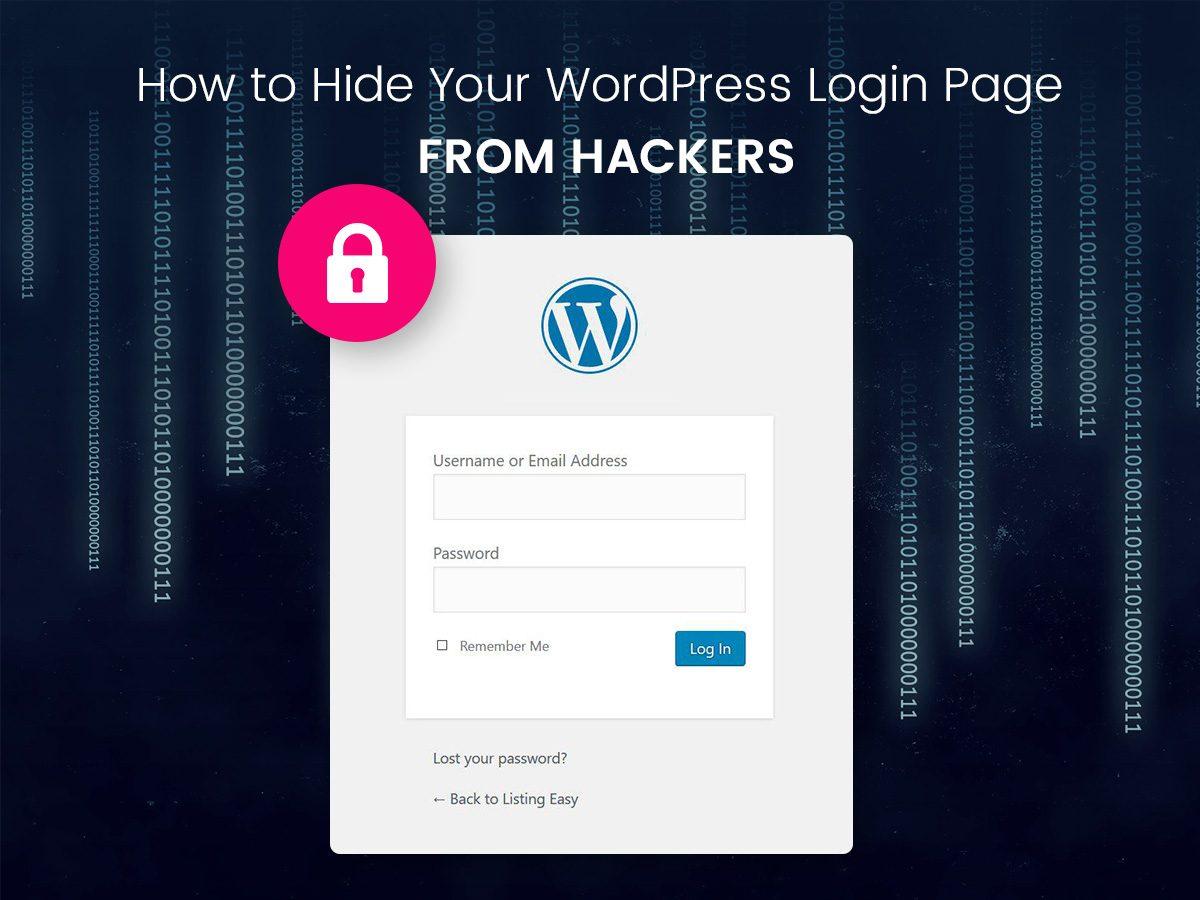 "WordPress Theme Help on Twitter: ""RT @visualmodo Hide WordPr"