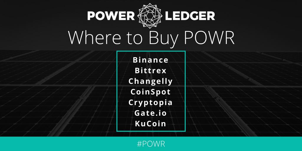 #POWR now listed on Changelly! http://bit.ly/2BS5VSI #POWRtoken #Blockchain  #btc #GreenTech #Renewablespic.twitter.com/9XAaEqHshR