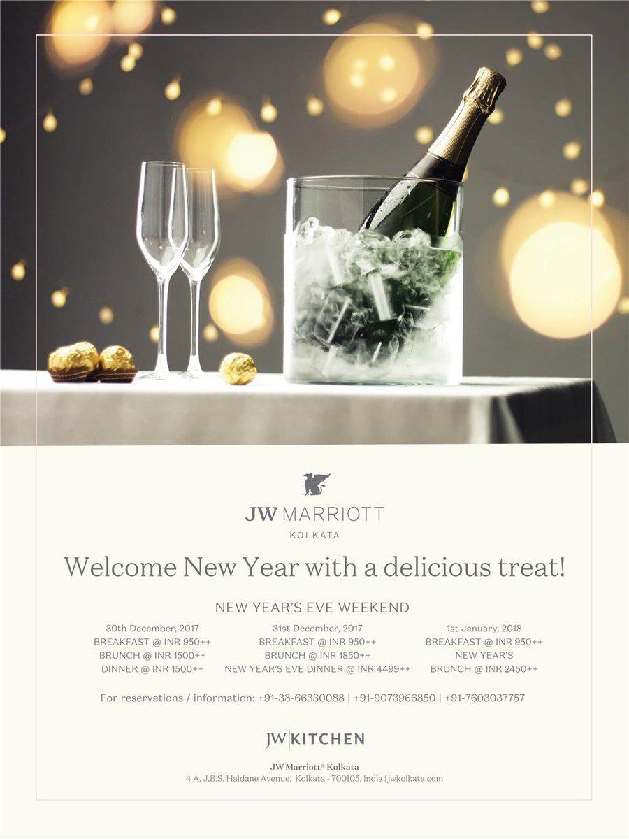 JW Marriott Kolkata on Twitter: \