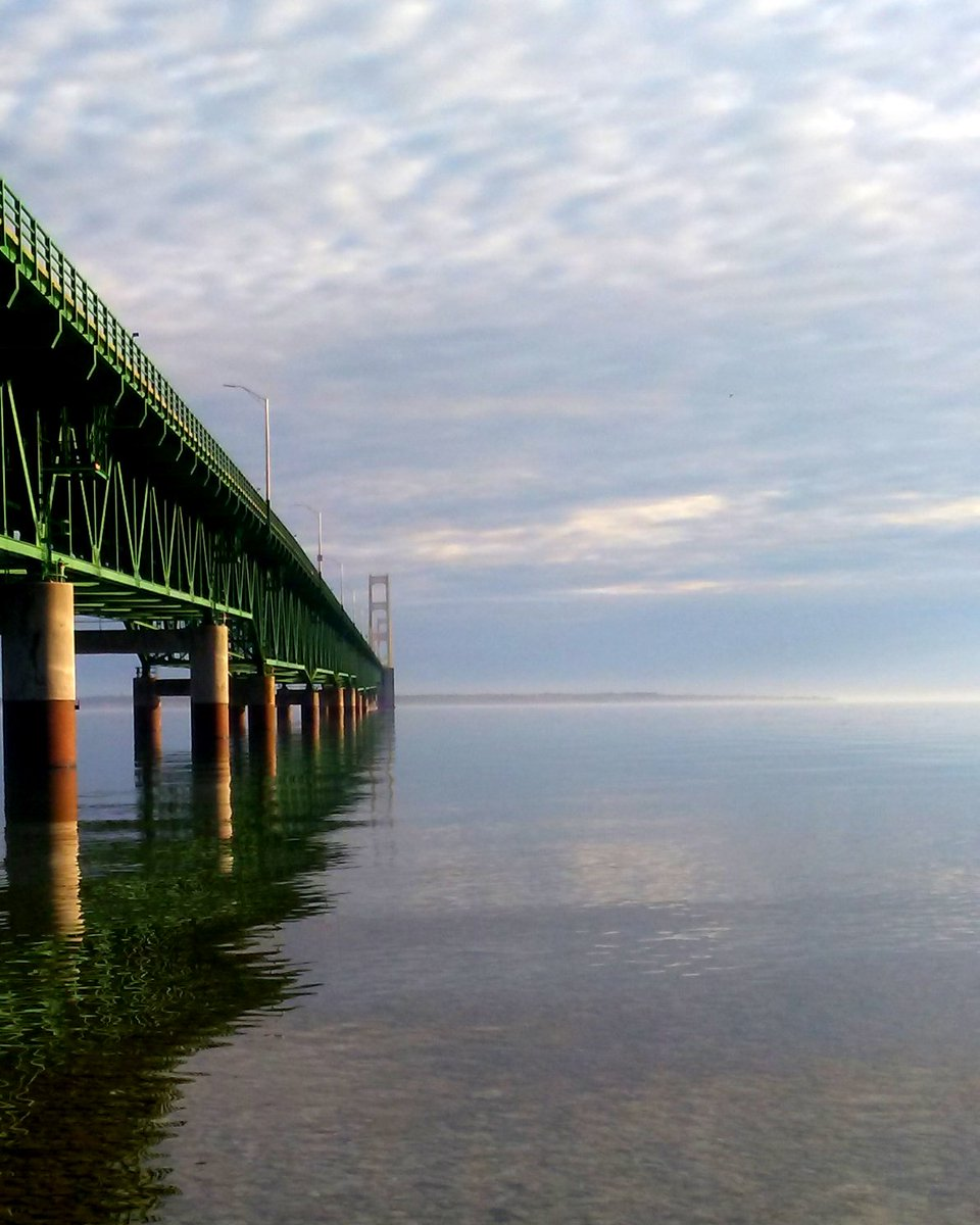 west mich tourist on twitter the big mac bridge looking