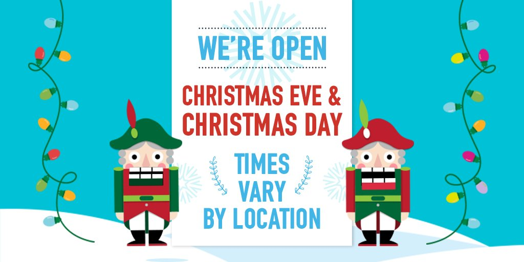 Open On Christmas Day.Dave Buster S On Twitter We Re Open On Christmas Eve