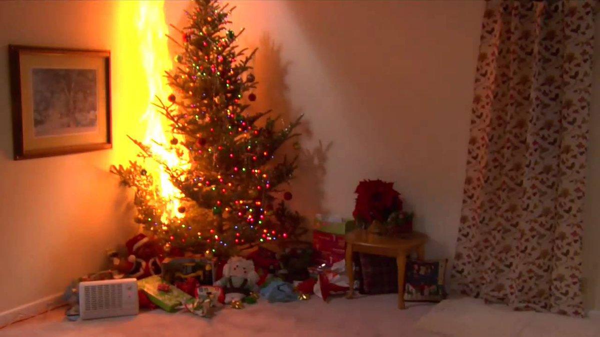 Brandweer Belfeld On Twitter Een Droge Kerstboom Brandt Sneller