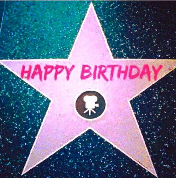 Happy Birthday to Walk of Famer