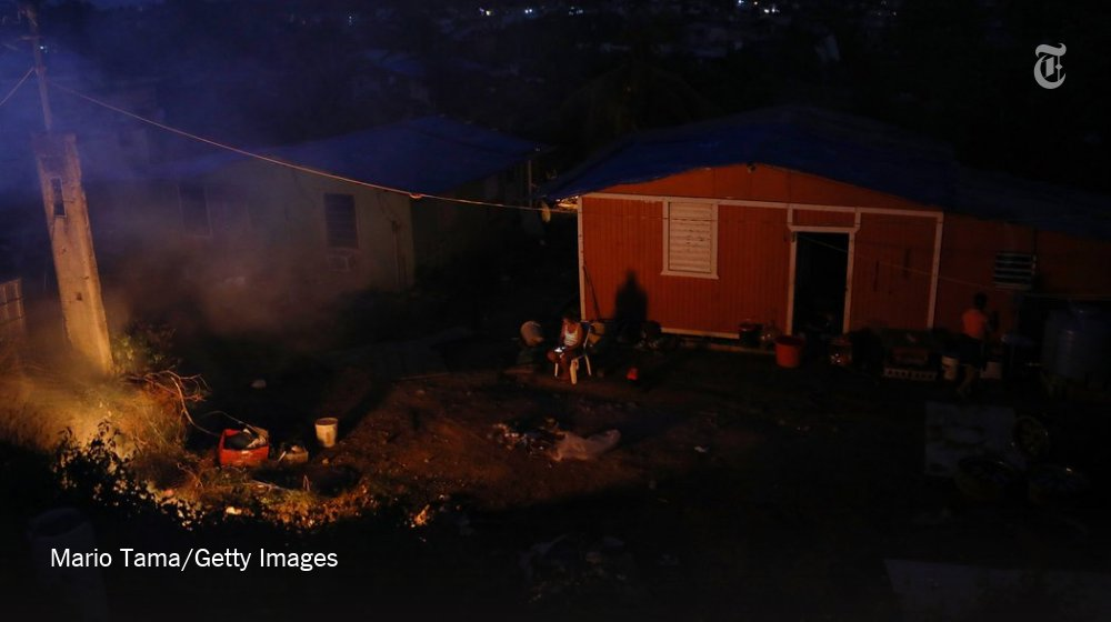 Parts of Puerto Rico won't have power for 8 months. What's the holdup? https://t.co/QQeLHGsy3g https://t.co/plentrNXGo