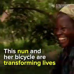 This inspiring woman and her 🚲 are helping to change womens lives