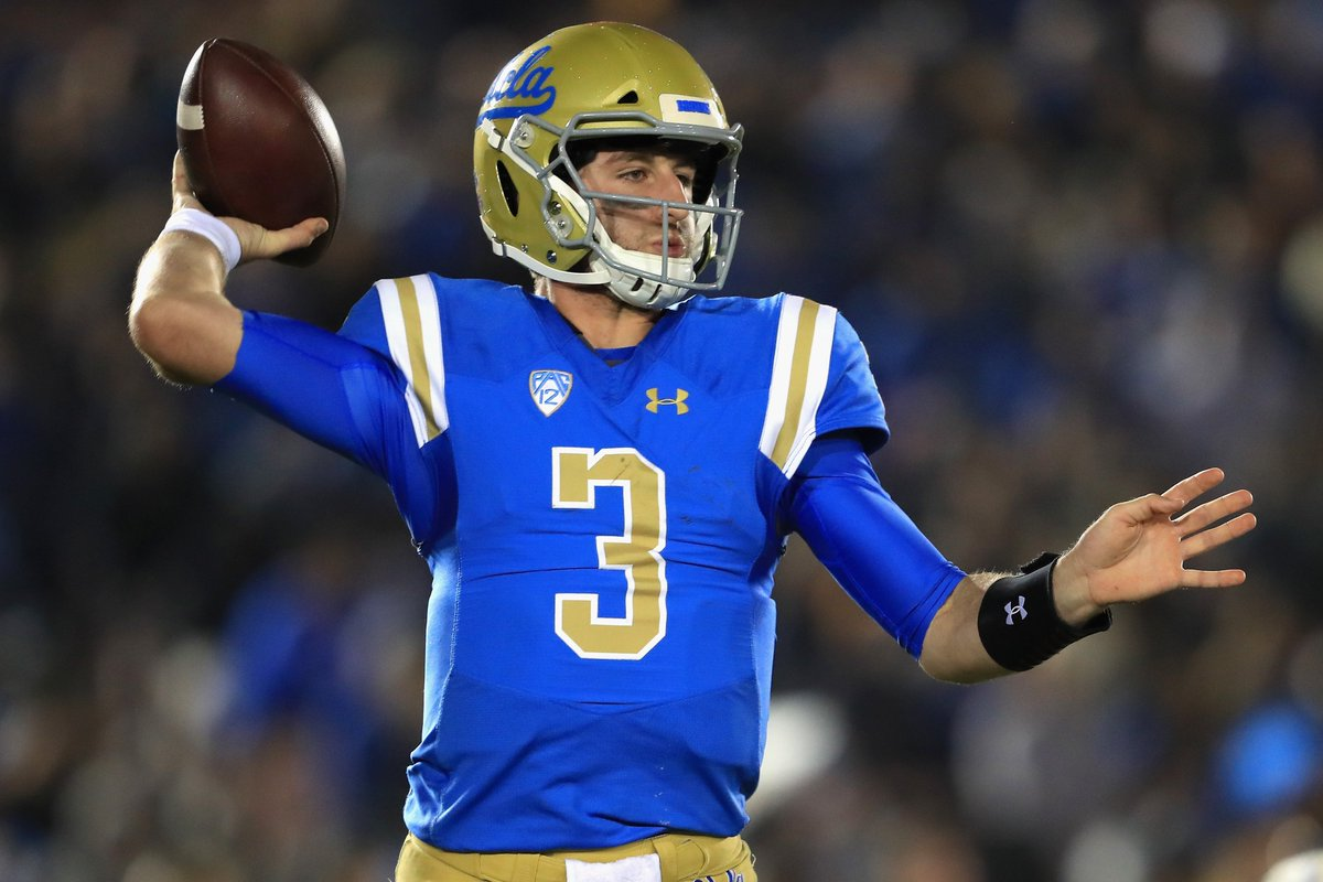 Josh Rosen would hesitate to declare for the NFL draft if the Browns plan to take him at No. 1, per @AdamSchefter