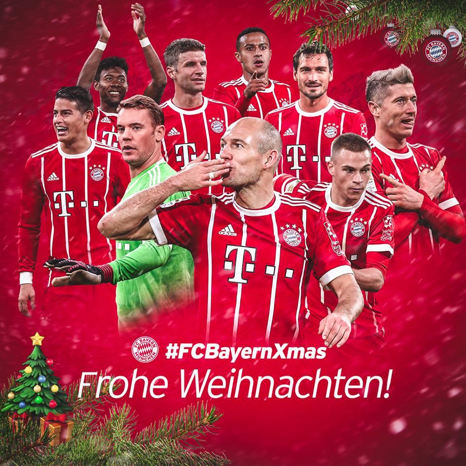 Fc Bayern Wünscht Frohe Weihnachten.Fc Bayern München On Twitter Wir Wünschen Euch Frohe Weihnachten