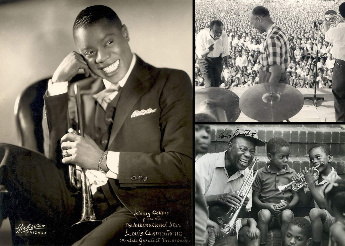 a biography of louis armstrong a talented jazz musician Share this: louis armstrong biography jazz musician louis armstrong was the most famous jazz trumpeter of the 20th century like jelly roll morton, louis armstrong began playing in new orleans clubs and saloons in his early teens.