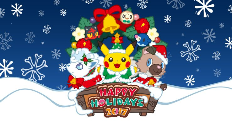 Happy holidays, Trainers! May your #Poke...