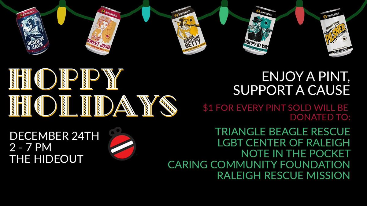 of a good cause dont forget to pick up a gift card and a few packs of brews for those last minute gifts while youre at itpictwittercomyoloxfgqbq