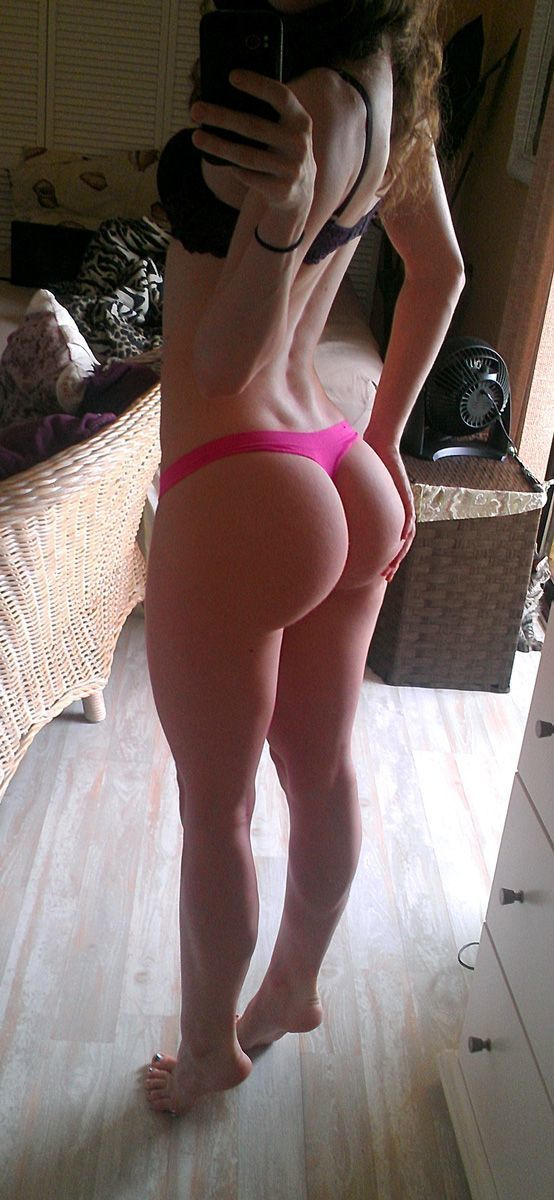 Sexy White Brunette Big Ass