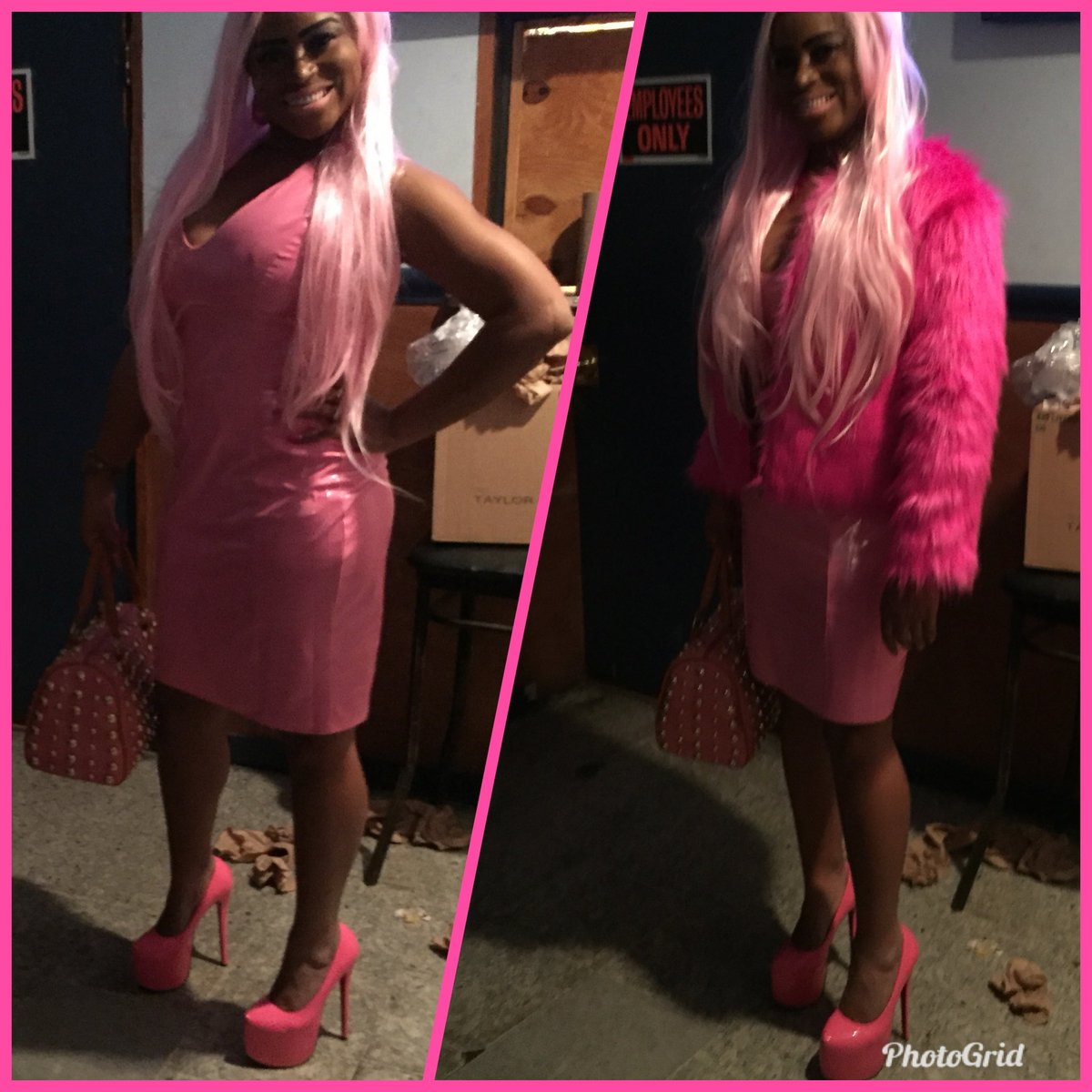 Show off my wicked curves when I step out in this dress.👗👠 👛I'm a black barbie doll, niggas love me they be sending me gifts cause I'm money when they ain't playing ball!  #WickedCurves