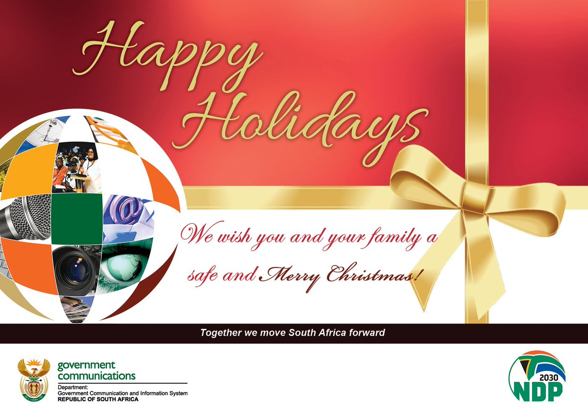 South African Government On Twitter We Wish You And Your Family A