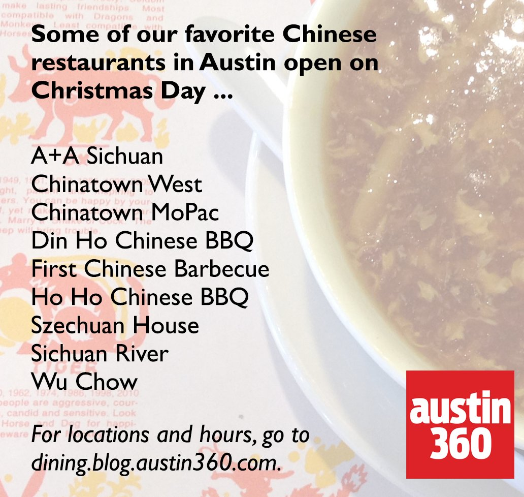 austin statesman on twitter chinese food on christmas day and christmas eve a tradition tag someone whos looking for their fix