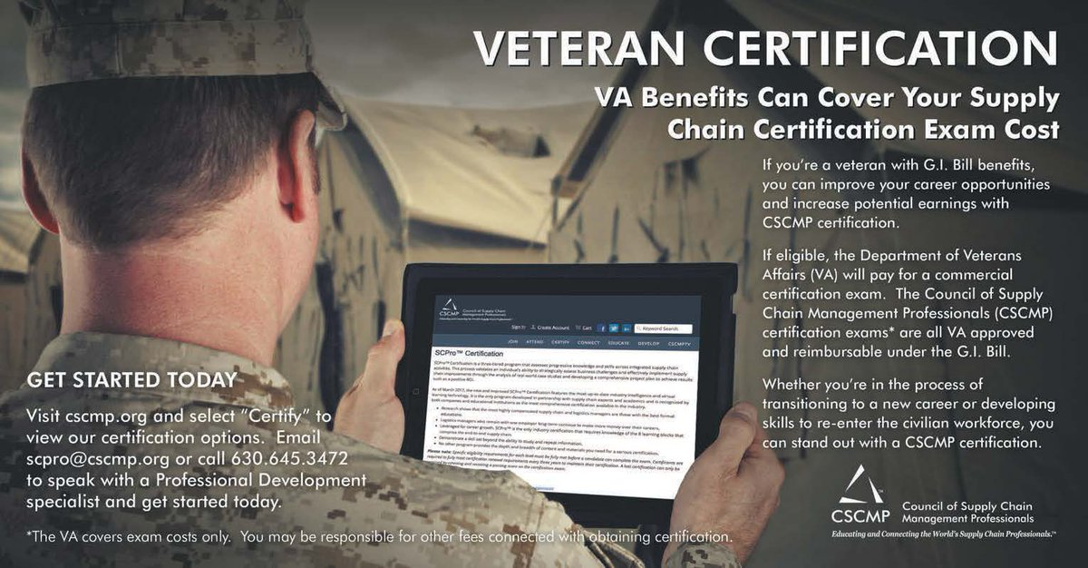 Cscmp On Twitter Va Benefits Will Cover Your Supply Chain