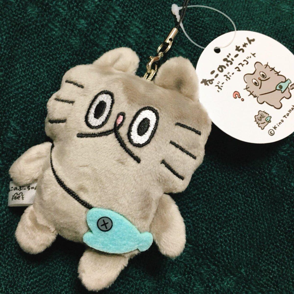 高橋きの先生( @tantan_0502 )からぶーちゃんマスコット頂いちゃいました…!がわいい!!嬉しいクリスマスプレゼントです…きの先生ありがとうございます!!✨