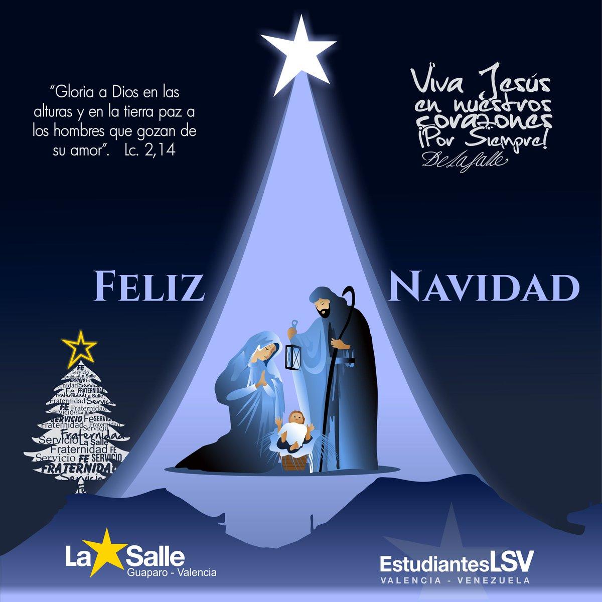 Fotos De Navidad Del Nino Jesus.La Salle Valencia On Twitter Feliz Navidad A Toda La