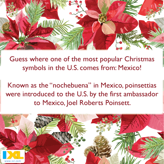Christmas Eve In Spanish.Ixl Learning On Twitter In Many Spanish Speaking Countries