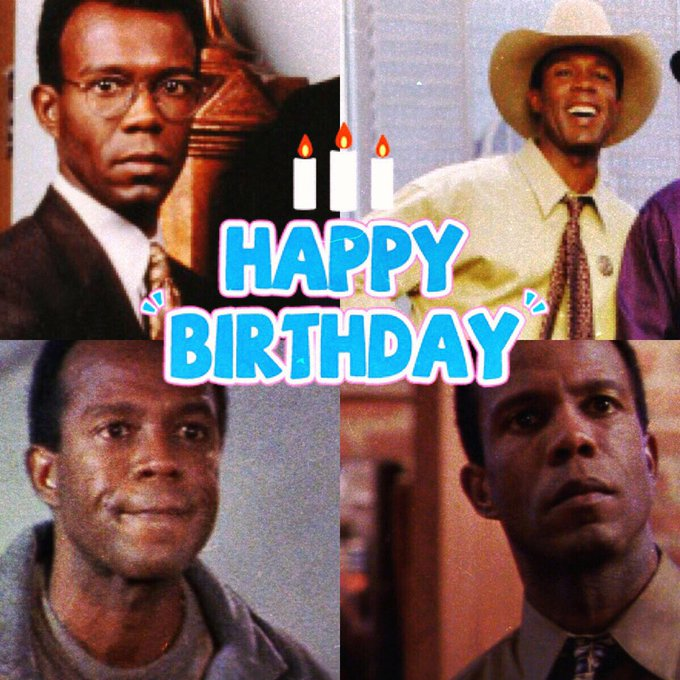 Big HAPPY BIRTHDAY wishes to the one and only Clarence Gilyard Jr!!