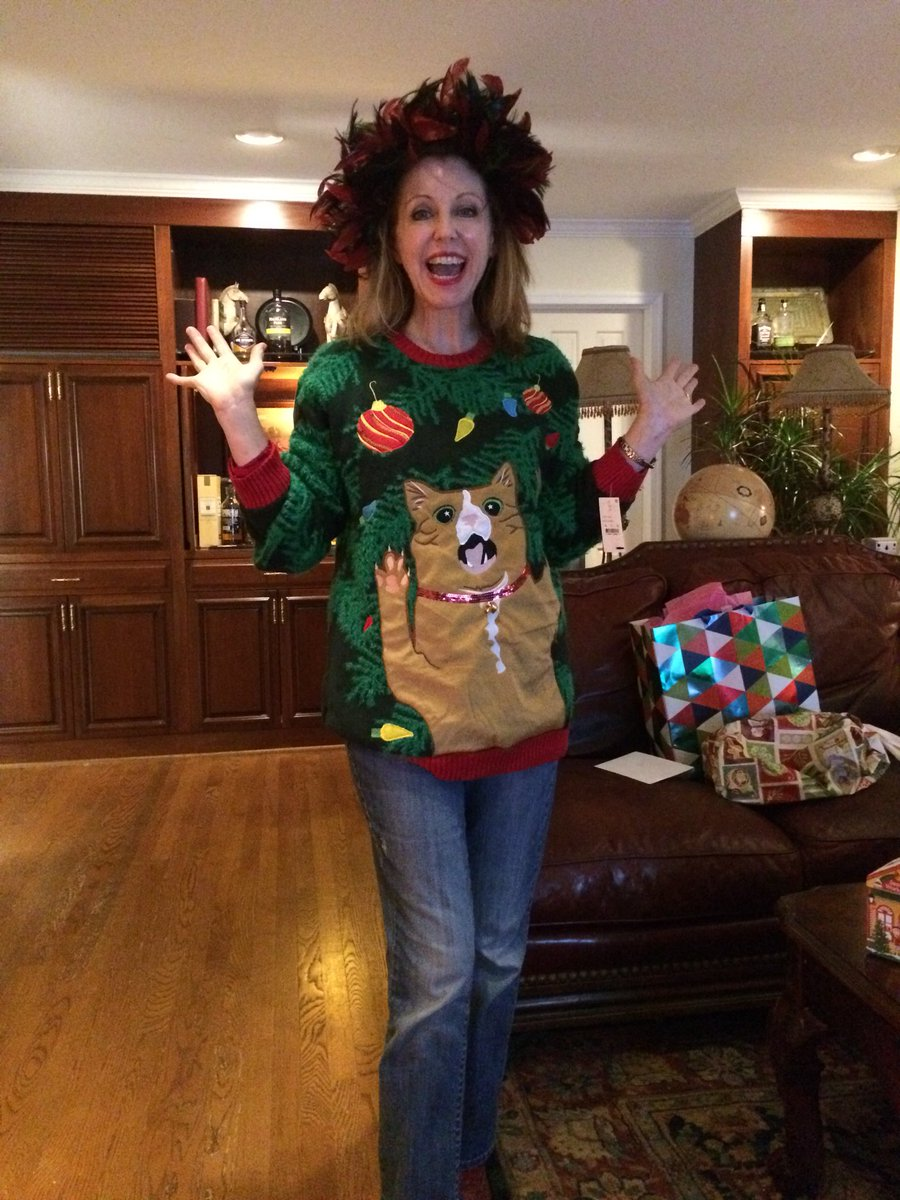 Eleanor Herman On Twitter Best Christmas Sweater Ever