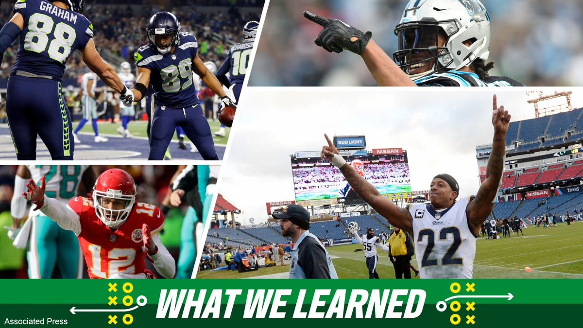 need a christmas eve recap heres what we learned from sundays nfl games - Nfl Christmas Games