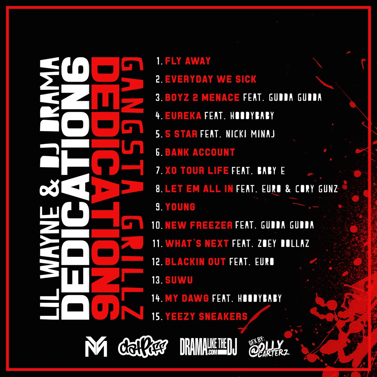 It's going to be a lovely Christmas!! #Dedication6 #D6 #YoungMoney https://t.co/nIqHZjTbcF