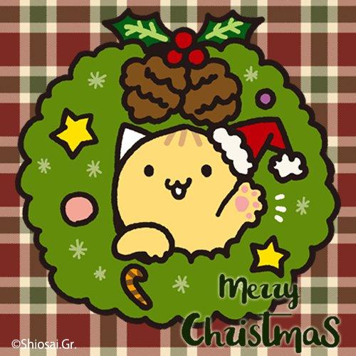 メリークリスマスにゃっつ! みんなはどんなクリスマスをすごすにゃっつ?おしごとだよーって人もたくさんいると思うけど、ステキなクリスマスになるといいにゃっつね(>ω<)