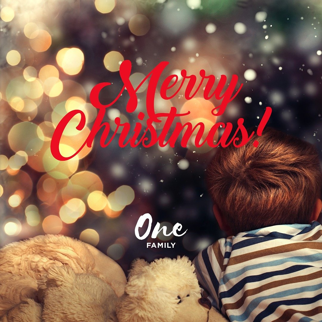 One Family On Twitter Merry Christmas And Seasonal Greetings To