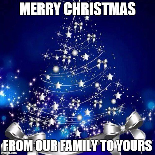 merry christmas from our family to yourspictwittercom7fi5ibf7mn