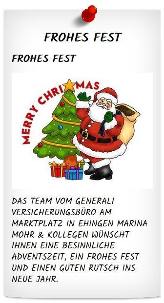 Frohe Weihnachten An Kollegen.Marina Mohr On Twitter Das Versicherungsbüro Generali Am