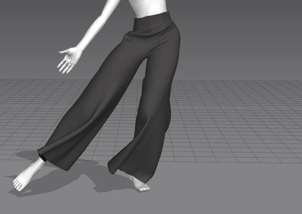 我已经找不到我做的这条宋裤了_(:з)∠)_然后不然做一个短的像图2那样?纠结。。。。