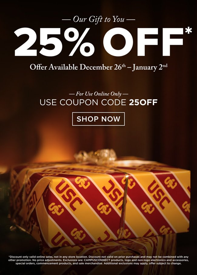 Active Usc Bookstore Discount Codes & Offers 12222