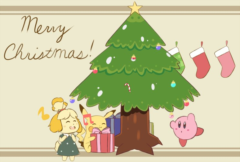 Nintendo Christmas.チョコミル Chocomiru On Twitter Merry Christmas Everyone