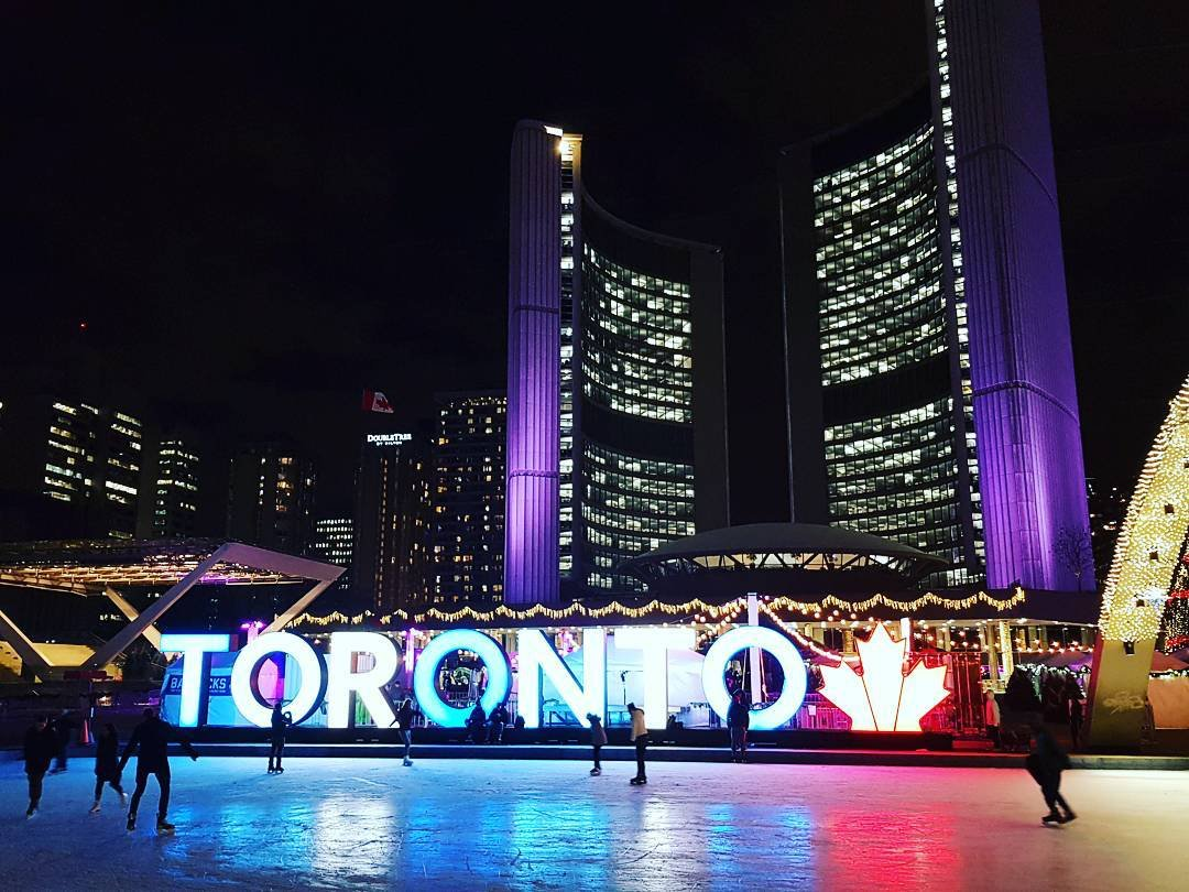 Tourism Toronto On Twitter Skate Under S Bright