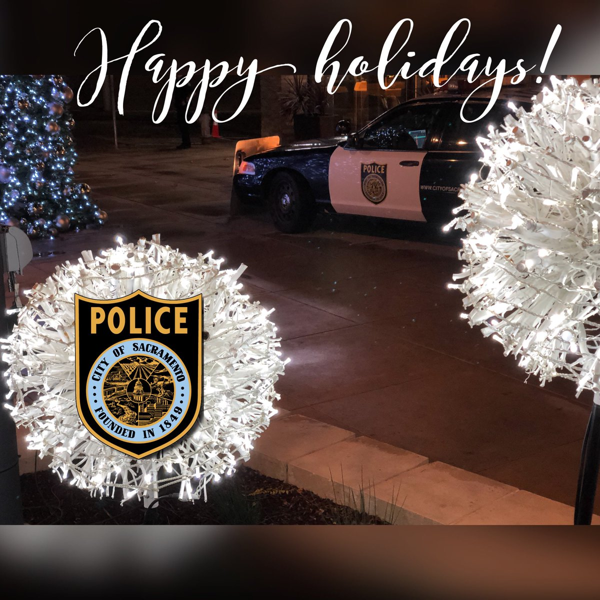 Merry Christmasto all & thank you to all those who are serving us today, in every profession, everywhere - we appreciate you! #Holidays2017 #christmas2017 #sacpd<br>http://pic.twitter.com/luSnGpBECL